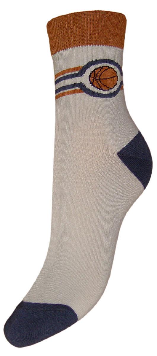 Носки детские Гранд, цвет: серый, 2 пары. TCL7. Размер 22/24TCL7Детские подростковые носки выполнены из высококачественного хлопка. Носки изготовлены по европейским стандартам из самой лучшей гребенной пряжи, имеют рисунок баскетбольный мяч на паголенке, после стирки не меняют цвет, усилены пятка и мысок для повышенной износостойкости, функция отвода влаги позволяет сохранить ноги сухими, благодаря свойствам эластана, не теряют первоначальный вид. Носки долгое время сохраняют форму и цвет, а так же обладают антибактериальными и терморегулирующими свойствами.