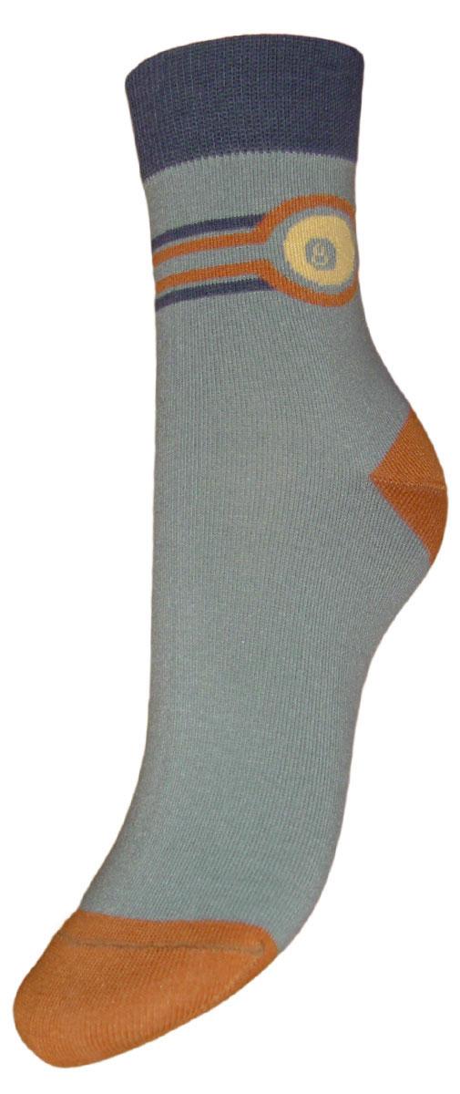 Носки детские Гранд, цвет: джинс. TCL8. Размер 22/24TCL8Детские подростковые носки выполнены из высококачественного хлопка. Носки изготовлены по европейским стандартам из самой лучшей гребенной пряжи, имеют рисунок шар бильярдный на паголенке и безупречный внешний вид, после стирки не меняют цвет, усилены пятка и мысок для повышенной износостойкости, функция отвода влаги позволяет сохранить ноги сухими, благодаря свойствам эластана, не теряют первоначальный вид. Носки долгое время сохраняют форму и цвет, а так же обладают антибактериальными и терморегулирующими свойствами.