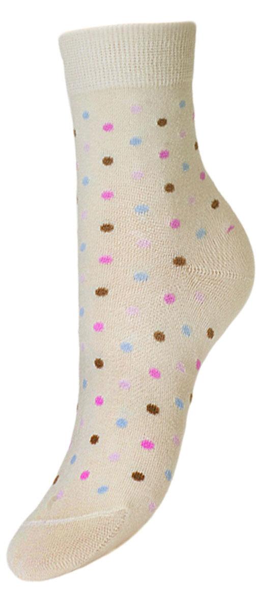 Носки детские Гранд, цвет: кремовый, 2 пары. YCL38. Размер 14/16YCL38Детские носки выполнены из высококачественного хлопка, предназначены для повседневной носки. Носки с текстурным рисунком разноцветные точки хорошо держат форму и обладают повышенной воздухопроницаемостью, имеют безупречный внешний вид, после стирки не меняют цвет, усилены пятка и мысок. За счет добавленной лайкры в пряжу, повышена эластичность и срок службы изделия.Носки долгое время сохраняют форму и цвет, а так же обладают антибактериальными и терморегулирующими свойствами.