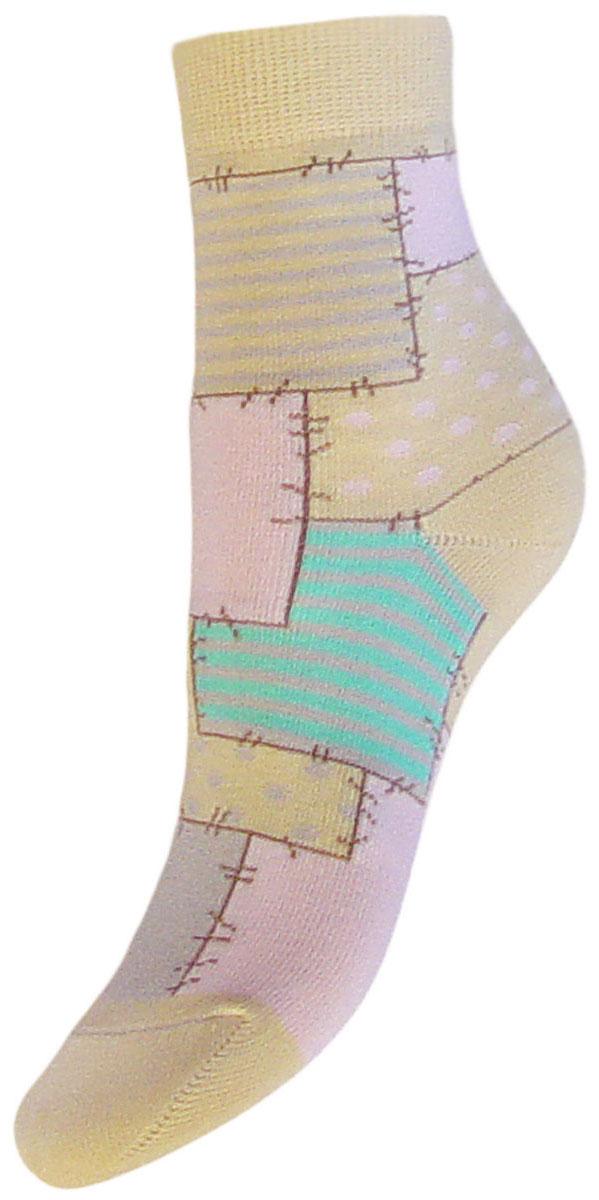 Носки детские Гранд, цвет: желтый, 2 пары. YCL48. Размер 18/20YCL48Детские носки выполнены из высококачественного хлопка. Носки с текстурным рисунком по всему носку заплатки хорошо держат форму и обладают повышенной воздухопроницаемостью, имеют безупречный внешний вид, после стирки не меняют цвет, усилены пятка и мысок. За счет добавления лайкры в пряжу, повышена эластичность и срок службы изделия.Носки произведены по европейским стандартам на современный вязальных автоматах.