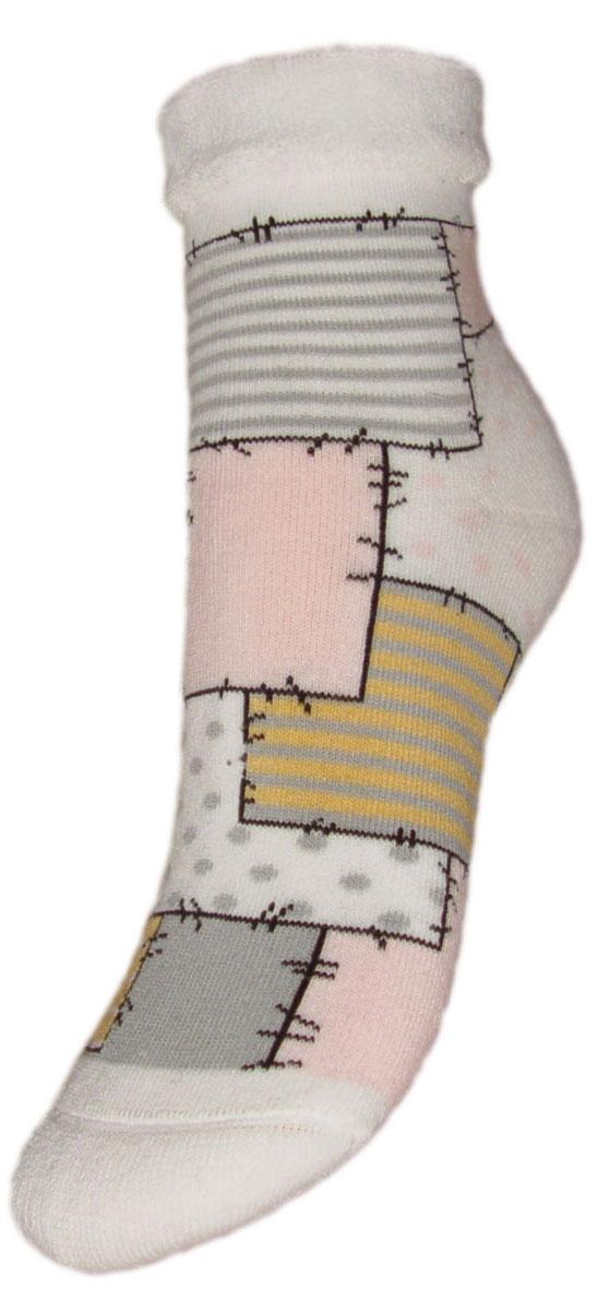 Носки детские Гранд, цвет: белый, 2 пары. YCL48M. Размер 14/16YCL48MДетские зимние носки выполнены из высококачественного хлопка. Махра отлично сохраняет тепло. Носки с текстурным рисунком лоскутыхорошо держат форму и обладают повышенной воздухопроницаемостью, имеют безупречный внешний вид, после стирки не меняют цвет, усилены пятка и мысок. За счет добавленной лайкры в пряжу, повышена эластичность и срок службы изделия.Носки долгое время сохраняют форму и цвет, а так же обладают антибактериальными и терморегулирующими свойствами.