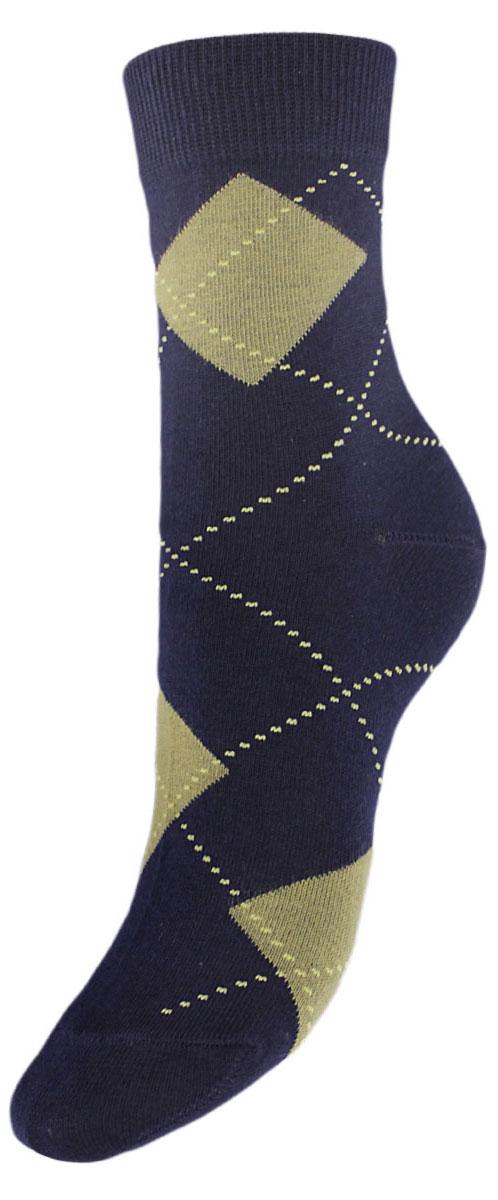 Носки детские Гранд, цвет: темно-синий, 2 пары. YCL50. Размер 14/16YCL50Детские носки выполнены из высококачественного хлопка. Носки оформлены рисунком ромбы по всему носку, имеют классический паголенок и безупречный внешний вид,хорошо держат форму и обладают повышенной воздухопроницаемостью, после стирки не меняют цвет, усилены пятка и мысок. За счет добавления лайкры в пряжу, повышена эластичность и срок службы изделия. Носки долгое время сохраняют форму и цвет, а так же обладают антибактериальными и терморегулирующими свойствами.