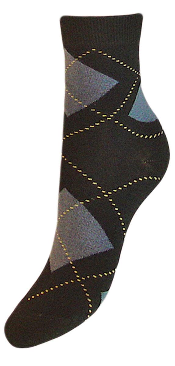Носки детские Гранд, цвет: черный, 2 пары. YCL50. Размер 20/22YCL50Детские носки выполнены из высококачественного хлопка. Носки оформлены рисунком ромбы по всему носку, имеют классический паголенок и безупречный внешний вид,хорошо держат форму и обладают повышенной воздухопроницаемостью, после стирки не меняют цвет, усилены пятка и мысок. За счет добавления лайкры в пряжу, повышена эластичность и срок службы изделия. Носки долгое время сохраняют форму и цвет, а так же обладают антибактериальными и терморегулирующими свойствами.