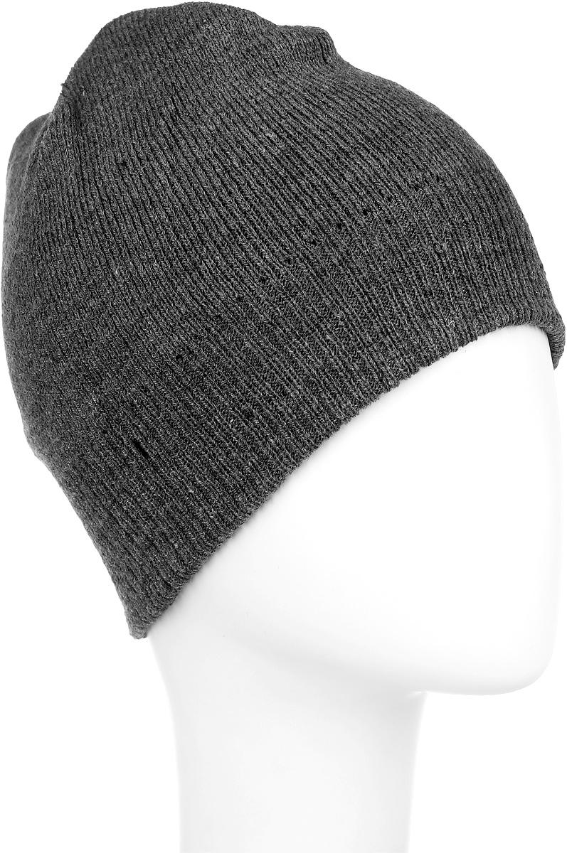Шапка Ignite, цвет: серый. 304258. Размер 54/56304258Вязаная шапка Ignite идеально подойдет для вас в холодное время года. Изготовленная из акриловой пряжи, она мягкая и приятная на ощупь, обладает хорошими дышащими свойствами и максимально удерживает тепло. Модель плотно облегает голову, благодаря чему надежно защищает от ветра и мороза. Теплая двухслойная шапка понизу связана крупной резинкой.Такой стильный и теплый аксессуар дополнит ваш образ и подчеркнет индивидуальность! Уважаемые клиенты!Размер, доступный для заказа, является обхватом головы.