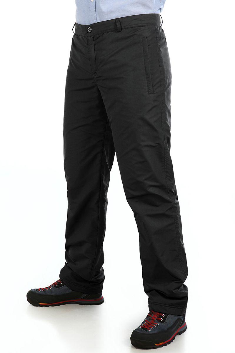 Брюки утепленные мужские Xaska, цвет: чеpный. 16417. Размер 5216417_BlackУтепленные мужские брюки Xaska выполнены из высококачественного полиэстера. Подкладка выполнена из теплого флиса.Модель прямого кроя и стандартной посадки застегивается в поясе на кнопку и ширинку молнию, а так же дополнена шлевками для ремня. Спереди брюки оформлены двумя втачными карманами на застежке молнии и одним карманом сзади на молнии.