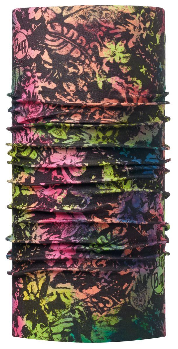 Бандана Buff Original, цвет: черный, розовый. 113079.555.10.00. Размер универсальный113079.555.10.00Многофункциональная бандана-шарф для занятий спортом и активной деятельности круглый год-Стрейч-материал-бесшовная технология-Polygiene® препятствует размножению бактерий и появлению запахов-воздухопроницаемость и контроль влаги