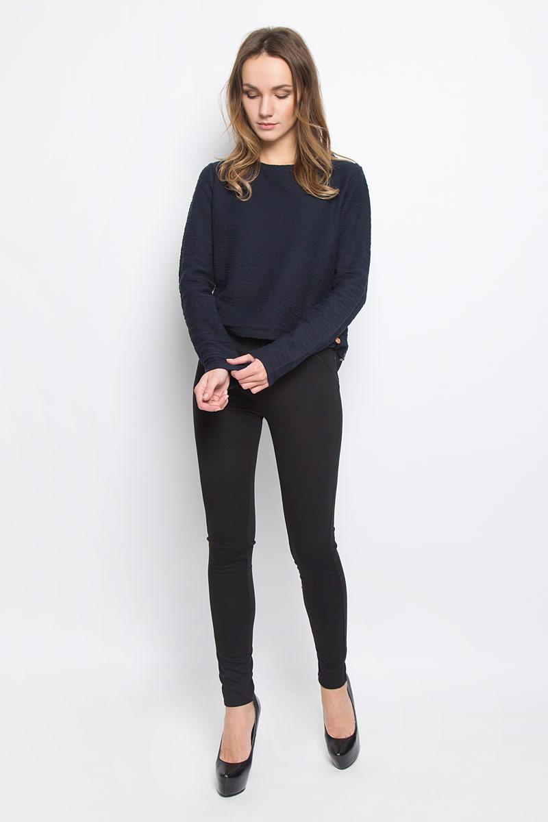 Брюки женские Broadway Cara, цвет: черный. 10156815_999. Размер S (44)10156815_999Стильные женские брюки Broadway Cara стандартной посадки выполнены из эластичного высококачественного материала, что обеспечивает комфорт и удобство при носке. Брюки-скинни застегиваются на металлический крючок и имеют ширинку на застежке-молнии. Спереди и сзади модель дополнена декоративными карманами.