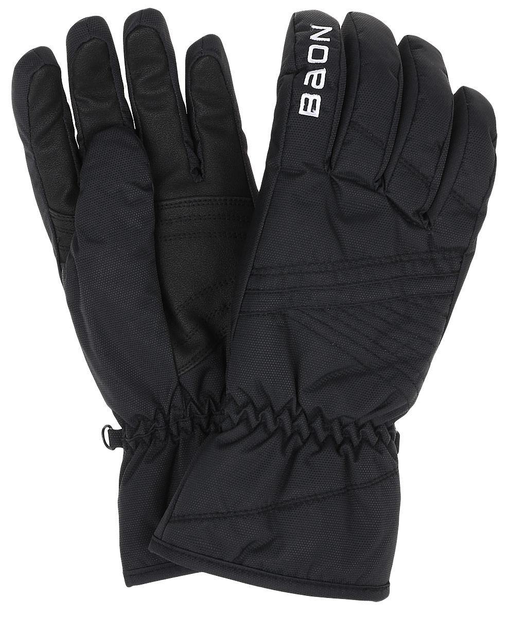Перчатки женские Baon, цвет: черный. B366519. Размер S (46)B366519_BLACKЖенские перчатки Baon выполнены из полиэстера. На запястьях изделия дополнены эластичными резинками. Подкладка выполнена из мягкого полиэстера. Для удобного хранения перчатки оснащены пластиковой застежкой, соединяющей их вместе.