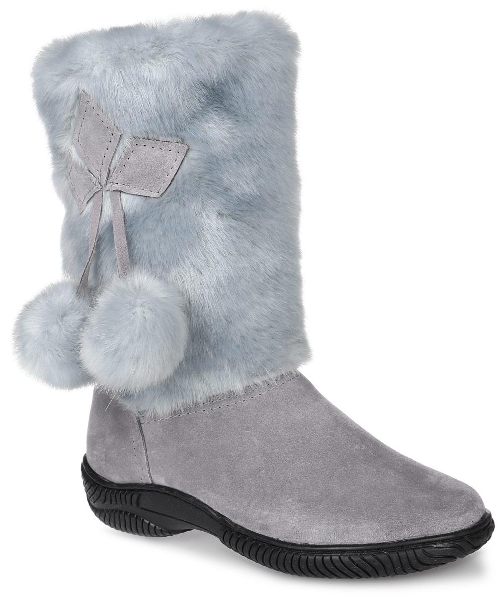 Унты женские 4U, цвет: серый, голубой. 4UУЖ-68. Размер 394UУЖ-68Стильные женские унты 4U выполнены из натуральной замши и искусственного меха. Подкладка и стелька из натуральной шерсти не дадут вашим ногам замерзнуть. Модель не имеет застежек. Рифление на подошве обеспечивает отличное сцепление с любой поверхностью.