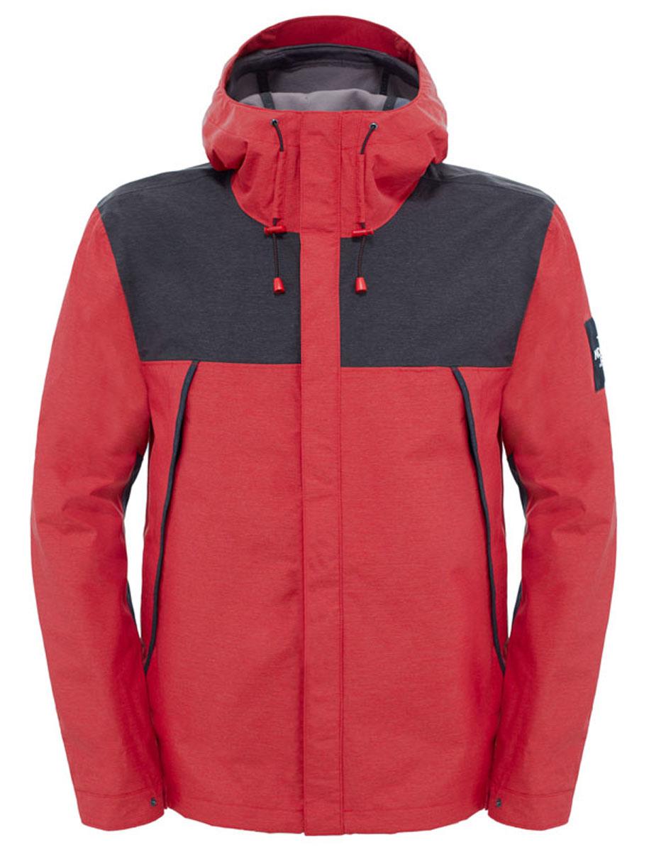 Куртка мужская The North Face M 1990 Mnt Tri Jkt, цвет: красный, черный. T92TUHHRG. Размер L (48/50)T92TUHHRGКуртка мужская The North Face защищает во время насыщенных приключений и спокойных прогулок в городе. На создание этой куртки-бестселлера вдохновили знаменитые горные экспедиции 1990-х годов. Она отличается особенным стилем и великолепными техническими характеристиками. Материал DryVent™ на внешней стороне защищает от легкого дождя и выводит пот, обеспечивая чувство комфорта в течение продолжительного времени, а на внутренней стороне расположена теплая флисовая подстежка на кнопках - в точности как в знаменитой куртке Denali. Утепленные карманы на молнии обеспечивают безопасность и легкий доступ к ценным вещам.
