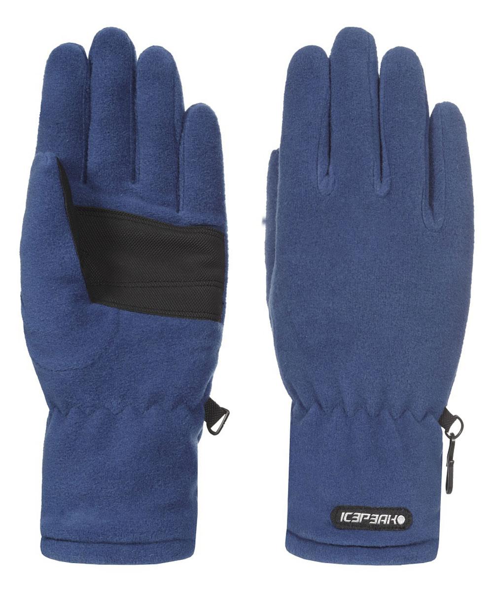 Перчатки детские Icepeak, цвет: темно-синий. 652851540IV. Размер M (6)652851540IVПерчатки Icepeak полностью выполнены из высококачественного утепленного полиэстера и оформлены фирменными нашивками. Эластичная резинка надежно фиксирует модель на руке и не стягивает запястье.