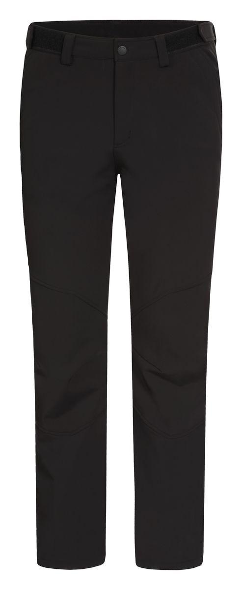 Брюки мужские Luhta Taavo, цвет: черный. 636801382LV. Размер L (52)636801382LVМужские брюки от Luhta выполнены из эластичного полиэстера, с изнаночной стороны они утеплены флисом. Модель застегивается на пуговицу и крючок в талии и ширинку на молнии, имеются шлевки для ремня. Спереди брюки дополнены двумя врезными карманами. Низ брючин дополнен утяжками со стопперами.