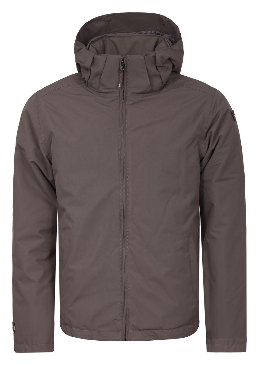 Куртка мужская Icepeak Thad, цвет: светло-коричневый. 656038532IV. Размер S (48)656038532IVМужская куртка Icepeak Thad с длинными рукавами и съемным капюшоном на кнопках и застежке-молнии выполнена из полиэстера. Наполнитель - синтепон.Куртка застегивается на застежку-молнию спереди. Изделие оснащено двумя втачными карманами на молниях спереди, внутренним втачным карманом на молнии и накладным карманом-сеткой. Объем капюшона регулируется при помощи шнурка-кулиски.