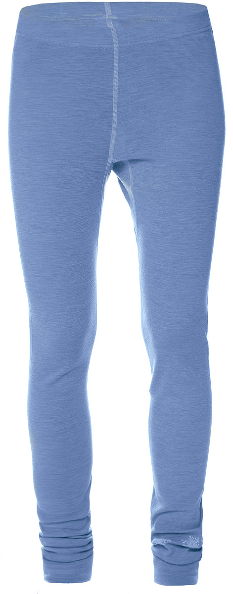 Термобелье леггинсы женские Verticale Outdoor Pants Debera, цвет: голубой меланж. Размер XL (52/54)Леггинсы Verticale DeberaКомфортное женское термобелье Verticale Outdoor выполнено из высококачественной мериносовой шерсти, что защитит вас от низких температур. Леггинсы оснащены эластичной резинкой на поясе и в нижней части брючин. Плоские швы исключают натирание. Оформлена модель небольшим принтом с изображением снежинок.