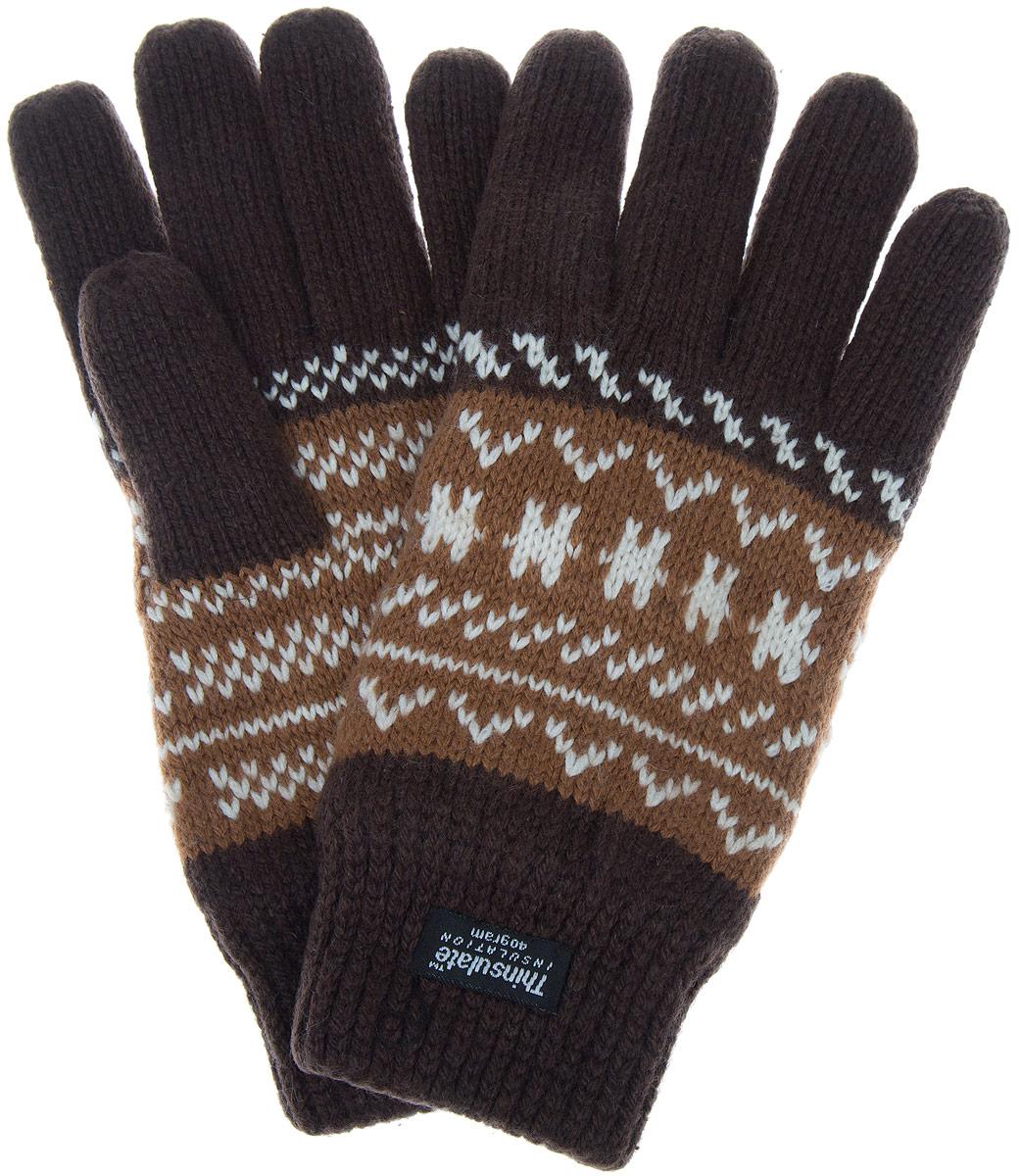 Перчатки мужские Modo Gru, цвет: коричневый, бежевый, белый. M8. Размер S (6,5)M8Теплые мужские перчатки Modo надежно защитят ваши руки от холода! Перчатки выполнены из шерсти и акрила с подкладкой из мягкого флиса.Такие перчатки станут отличным дополнением к вашему зимнему гардеробу!