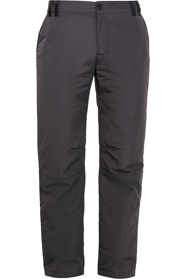 Брюки утепленные мужские Finn Flare, цвет: темно-серый. W16-22018_202. Размер M (48)W16-22018_202Утепленные мужские брюки Finn Flare изготовлены из высококачественного полиэстера. В качестве утеплителя используется полиэстер.Модель прямого кроя застегивается на пуговицы в поясе и ширинку на застежке-молнии. Спереди расположены два втачных кармана, сзади - прорезной карман на застежке-молнии. На поясе имеются шлевки для ремня.