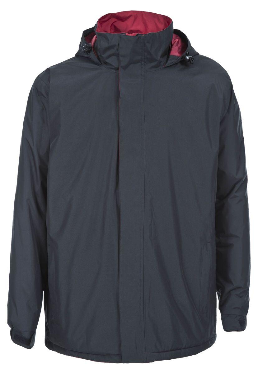 Куртка мужская Trespass Taylor, цвет: черный. MAJKRAK20012. Размер L (52)MAJKRAK20012Великолепная теплая куртка Trespass Taylor выполнена из 100% полиэстера и застегивается на застежку-молнию. Утеплитель ColdHeat 200 г/м2 (синтетический, микроволоконный с функцией быстрого отвода влаги и высоким уровнем теплозащиты и износостойкости). Каждый простроченный шов от иглы оставляет сотни отверстий, через которые влага может проникать внутрь куртки. Применение технологии Taped Seams - обработка швов термо-пластичесткой лентой под высоким давлением - запечатывает швы, тем самым препятствуя проникновению влаги внутрь куртки, дополнительно обеспечивая Вашему телу сухость и комфорт. Материал верха защищает от влаги (влагозащита - 2 000мм). Подкладка из микрофлиса 130г/м. Модель дополнена утепленным регулируемым капюшоном.