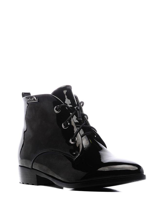Ботинки женские Daze, цвет: черный. 16453Z-1-1F. Размер 4016453Z-1-1FСтильные женские ботинки Daze выполнены из искусственной кожи. Удобная шнуровка надежно фиксирует модель на ноге. Такие ботинки отлично подойдут для тех, кто хочет подчеркнуть свою индивидуальность.