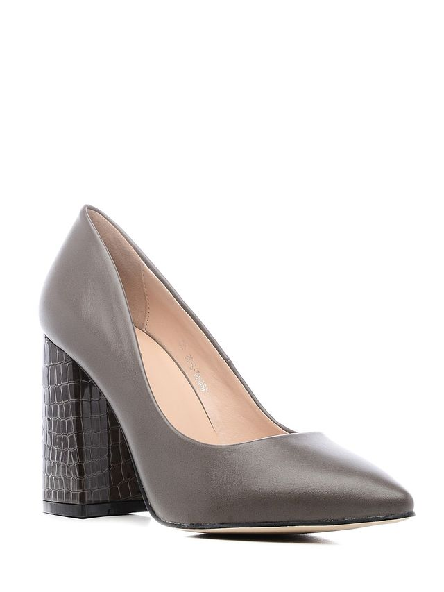 Туфли женские Daze, цвет: темно-серый. 16448Z-2-2S. Размер 4016448Z-2-2SИзысканные женские туфли Daze эффектно дополнят ваш модный образ.Модель на высоком каблуке выполнена из искусственной кожи. Зауженный носок смотрится стильно. Стильные туфли подчеркнут вашу яркую индивидуальность, позволят выделиться среди окружающих.