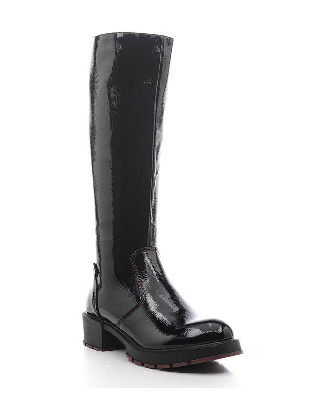 Сапоги женские Daze, цвет: черный. 16421Z-3-1F. Размер 4116421Z-3-1FОригинальные женские сапоги Daze - отличный вариант на каждый день. Модель выполнена из искусственной кожи. Умеренной высоты каблук устойчив. Подошва с рельефным протектором обеспечивает отличное сцепление на любой поверхности. В этих сапогах вашим ногам будет комфортно и уютно.