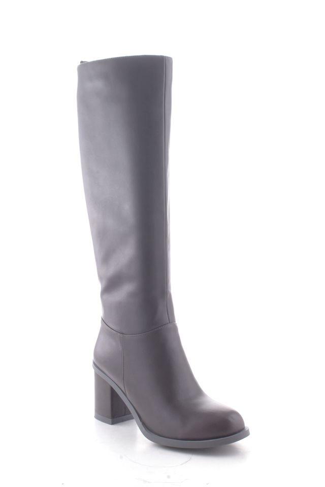Сапоги женские Daze, цвет: темно-серый. 16563Z-3-2F. Размер 4016563Z-3-2FОригинальные женские сапоги Daze - отличный вариант на каждый день. Модель выполнена из искусственной кожи. Умеренной высоты каблук устойчив. Подошва с рельефным протектором обеспечивает отличное сцепление на любой поверхности. В этих сапогах вашим ногам будет комфортно и уютно.
