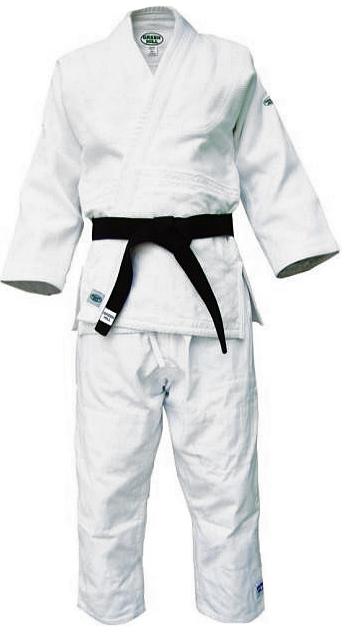 Кимоно для дзюдо Green Hill Master, цвет: белый. JSM-10223. Размер 3/160JSM-10223Профессиональный тренировочный дзюдоги или, как его еще называют, кимоно для дзюдо от фирмы Green Hill изготовлено из 100% хлопка. Ткань особого переплетения имеет плотность 750 г/м2. На куртке усилены плечевые швы. Брюки упрочнены двойной стежкой. Дзюдоги отлично подойдет для тренировок и соревнований. Пояс приобретается отдельно. Возможная усадка после стирки-2%