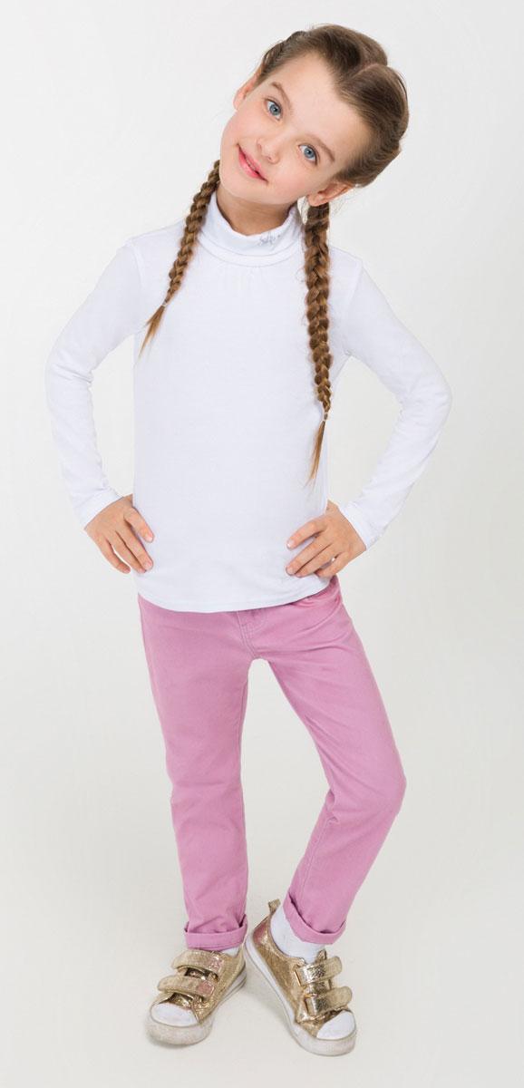 Водолазка для девочки Acoola Leirvic_ind, цвет: белый. 20220100038_200. Размер 9820220100038_200Водолазка для девочки Acoola Leirvic_ind изготовлена из высококачественного материала и оформлена на воротничке логотипом бренда. Высокий воротник надежно защищает от ветра. Базовая модель позволяет создавать стильные образы.