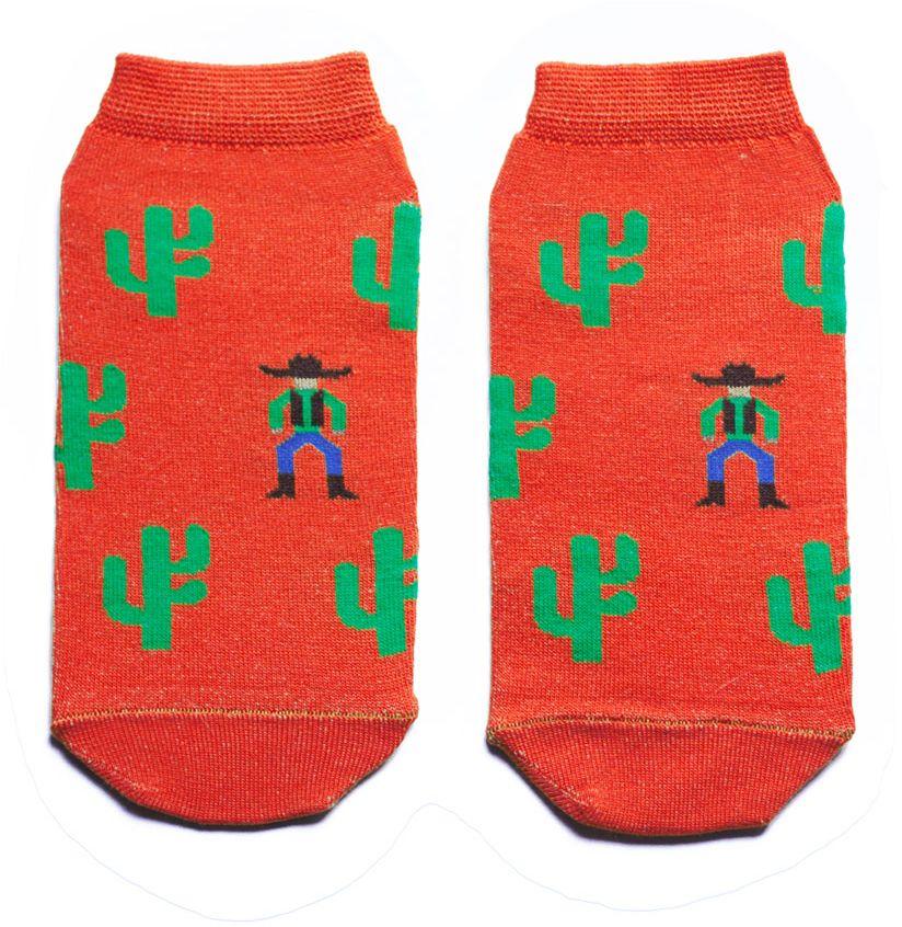 Носки женские Big Bang Socks, цвет: терракотовый. aw3122. Размер 35/39aw3122Женский носки Big Bang Socks изготовлены из высококачественного хлопка с добавлением полиамидных и эластановых волокон, которые обеспечивают великолепную посадку.Удобная резинка идеально облегает ногу и не пережимает сосуды, а укороченный паголенок придает более эстетичный вид. Модель оформлена оригинальным принтом.