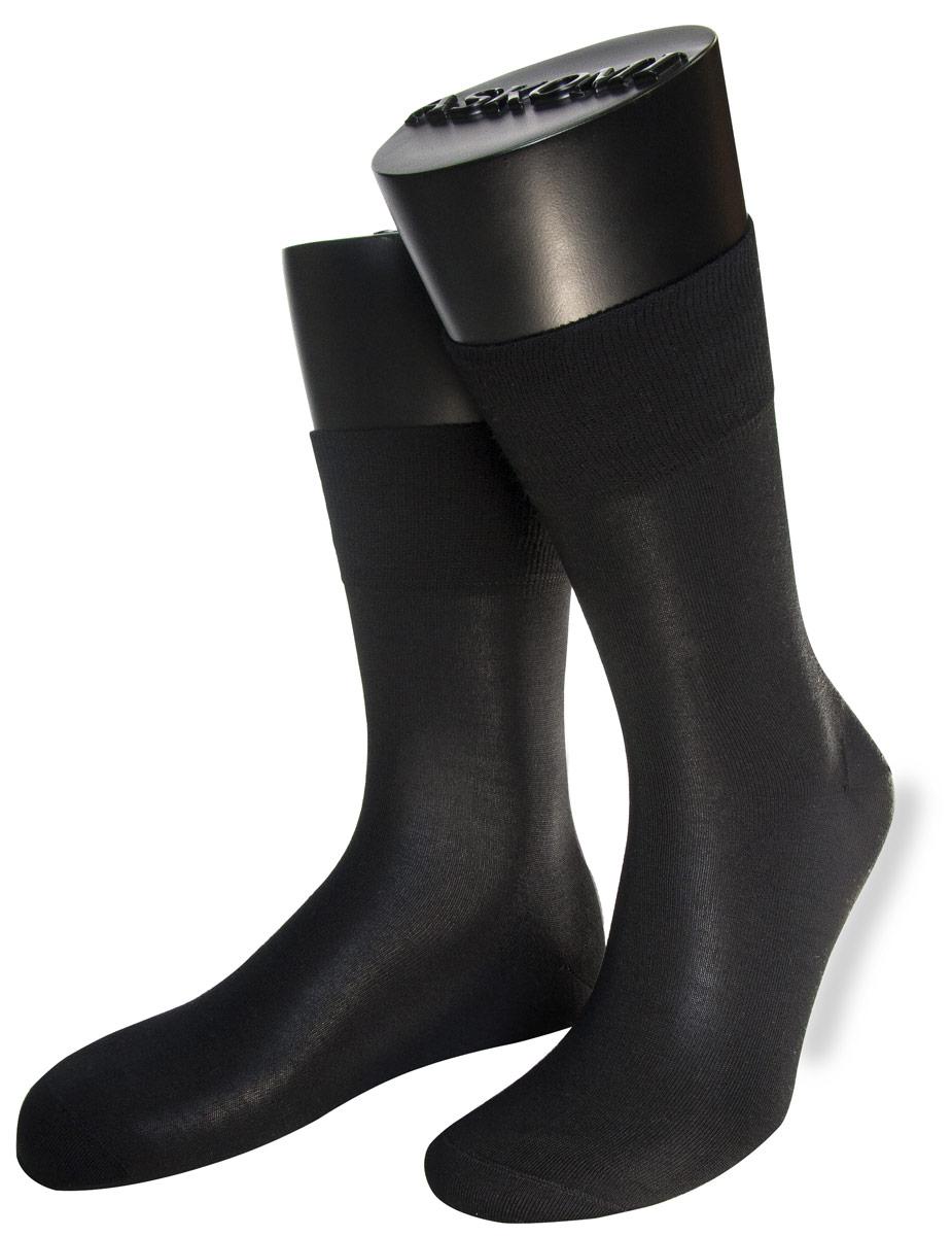 Носки мужские Askomi Premium, цвет: черный. АМ-1260. Размер 27 (41/42)АМ-1260Мужские носки Askomi Premium выполнены из шерсти с добавлением полиамида. Сверхтонкий сорт шерсти придает изделию мягкость и комфортность при носке. Двойной борт для плотной фиксации не пережимает сосуды. Кеттельный шов не ощутим для ноги.