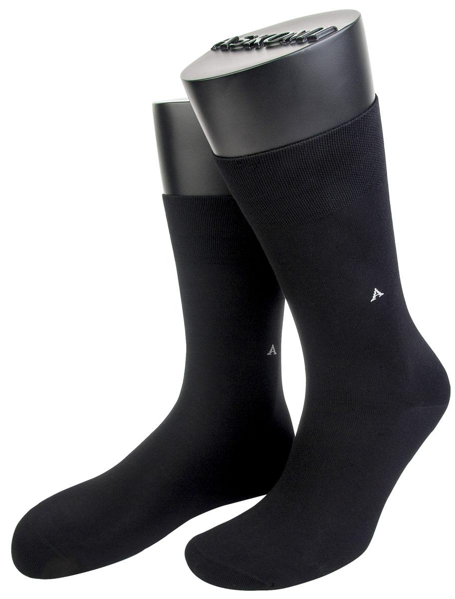 Носки мужские Askomi, цвет: темно-серый. АМ-3600. Размер 25 (39/40)АМ-3600Мужские носки Askomi изготовлены из высококачественного бамбука с добавлением полиамидных волокон, обладают повышенной прочностью и мягкостью, не садятся и не деформируются. Изделие оснащено двойным бортом для плотной фиксации, который не пережимает сосуды, а также кеттельным швом, не ощутимым для ноги. Мысок и пятка усилены.