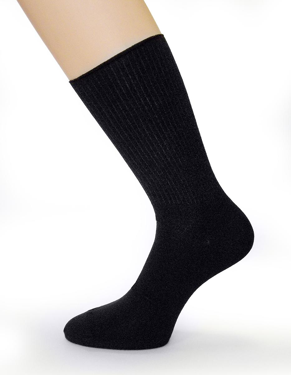 Носки мужские Touch Gold, цвет: черный. 012. Размер 27012Классические мужские носки Touch Gold. Однотонные, гладкие. Носки отличаются элегантным внешним видом. Удобная широкая резинка идеально облегает ногу и не пережимает сосуды, усиленные пятка и мысок повышают износоустойчивость носка, а удлиненный паголенок придает более эстетичный вид. Идеально подойдут любителям классического стиля в одежде.