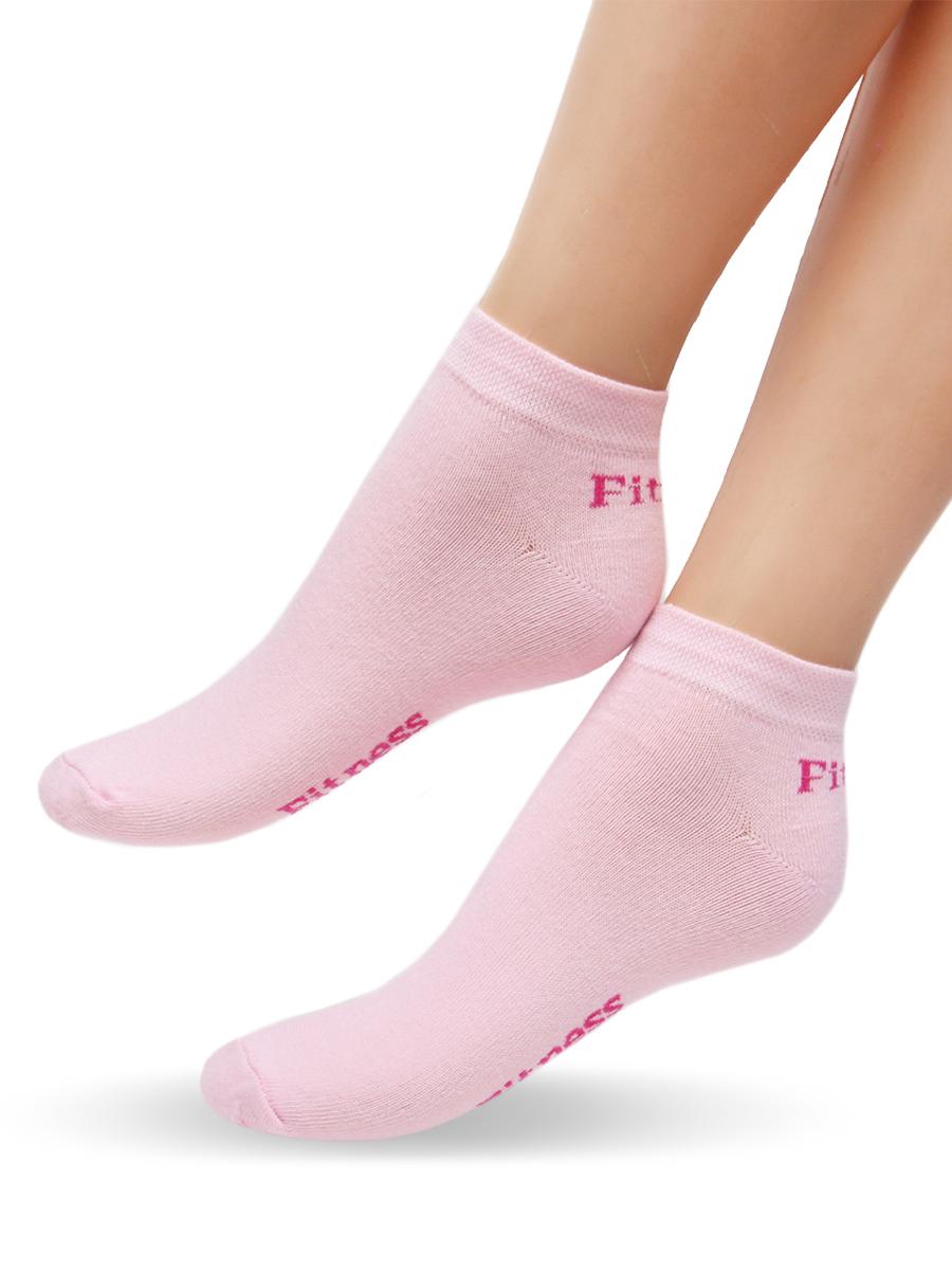 Носки женские Touch Gold, цвет: розовый. 900. Размер 23/25900Удобные женские носочки Touch Gold для занятий спортом. Укороченная модель. Носочки изготовлены из лучших сортов хлопка с добавлением эластановых волокон, которые обеспечивают повышенную износостойкость, превосходную посадку и позволяют вашим ножкам дышать, благодаря высокой доле содержания натуральных волокон.