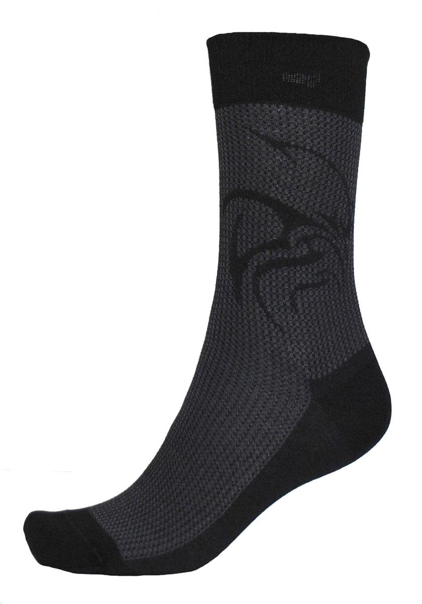 Носки мужские Burlesco, цвет: черный. C717. Размер 25 (39-40)C717Мужские носки Burlesco изготовлены из высококачественного хлопка с добавлением полиамидных и эластановых волокон. Носки комфортно прилегают к ноге без образования складок. Идеальны для повседневной носки. Изделие оснащено широкой эластичной мягкой резинкой. Мысок и пятка усилены. Декорированы узором.