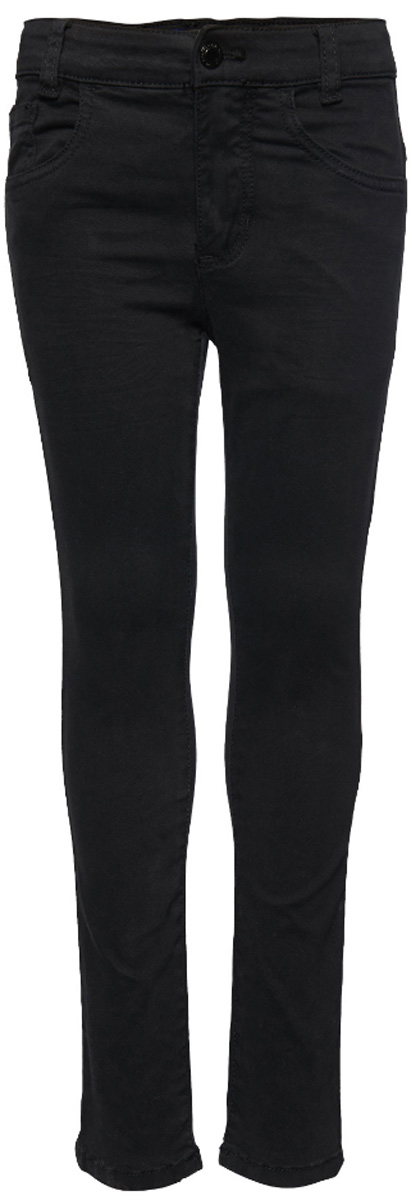 Джинсы для мальчика Tom Tailor, цвет: черный. 6205078.00.82_2999. Размер 986205078.00.82_2999Стильные джинсы Tom Tailor выполнены из высококачественного материала. Модель на талии застегивается на металлическую пуговицу и имеет ширинку на застежке-молнии, а также шлевки для ремня. Джинсы имеют классический пятикарманный крой: спереди два втачных кармана и один накладной кармашек, а сзади - два накладных кармана.