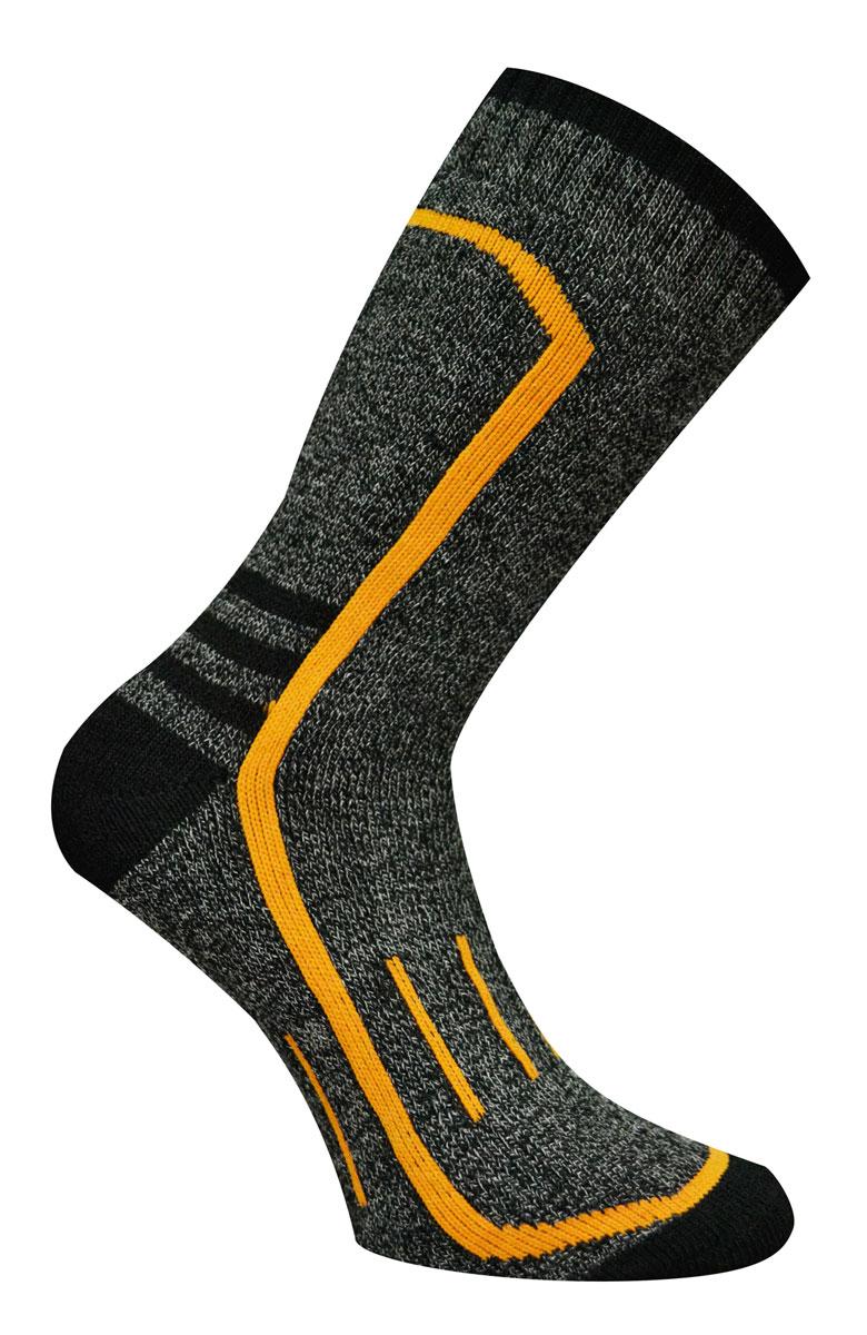 Носки мужские Master Socks Active Lifestyle, цвет: темно-серый, горчичный. 88420. Размер 2988420Носки Master Socks Active Lifestyle изготовлены из полиакриловых нитей, натурального хлопка, полиамида и эластана, которые обеспечивают отличную посадку. Модель с удлиненным паголенком оформлена вязаным принтом. Эластичная резинка плотно облегает ногу, не сдавливая ее, обеспечивает удобство.