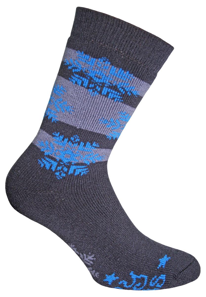 Носки мужские Master Socks Wool-Cotton-Mix, цвет: темно-серый, синий. 58422. Размер 2958422Вязаные носки Master Socks Wool-Cotton-Mix изготовлены из акрила, полиамида и эластана, которые обеспечивают отличную посадку. Модель с удлиненным паголенком оформлена оригинальным принтом. Эластичная резинка плотно облегает ногу, не сдавливая ее, обеспечивает удобство.
