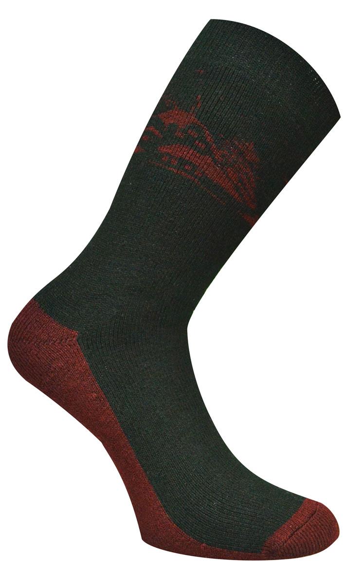 Носки мужские Master Socks Wool-Cotton-Mix, цвет: черный, бордовый. 58422. Размер 2558422Вязаные носки Master Socks Wool-Cotton-Mix изготовлены из акрила, полиамида и эластана, которые обеспечивают отличную посадку. Модель с удлиненным паголенком оформлена оригинальным принтом. Эластичная резинка плотно облегает ногу, не сдавливая ее, обеспечивает удобство.