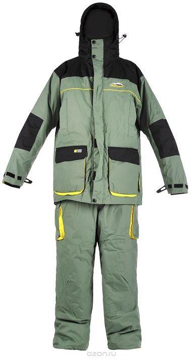 Костюм рыболовный зимний Arctix Greenland 3 в 1 (до -10С), цвет: зеленый, черный. 810-08004. Размер XXL (56)810Костюм зимний Arctix Greenland 3 в 1 предназначен для эксплуатации при температуре до -10°С. Костюм Arctix Greenland разработан для зимней рыбалки и активного отдыха на природе. Особенность этого костюма - отстегивающаяся внутренняя куртка, которую можно носить отдельно в весенне-осенний сезон.Куртка имеет теплый карман для мобильного телефона или фотоаппарата. Проклеенные швы. Двух замковая застежка-молния YKK с клапаном. Капюшон. Высокий воротник с флисовой подкладкой. Фиксатор, стягивающий куртку в области талии. Удобные, теплые карманы для рук. Карманы внутри и снаружи. Неопреновые эластичные удлиненные манжеты.Куртка-подстежка Arctix Greenland, по желанию можно снять верхнюю куртку и остаться только в утепленной куртке-подстежке Arctix Greenland. Она имеет свою отдельную молнию, что очень удобно, например, при вождении автомобиля. Куртка – подстежка регулируется по фигуре. Основная куртка и подстежка могут использоваться как самостоятельные элементы одежды, так и совместно.Полукомбинезон Arctix Greenland имеет удобные, регулируемые по длине лямки с замками. Двух замковая застежка-молния YKK с клапаном. Накладные карманы с клапаном. Материал повышенной прочности в области седалища и колен. Регулировка талии под требуемый объем. Удобные вместительные карманы, 6 штук.
