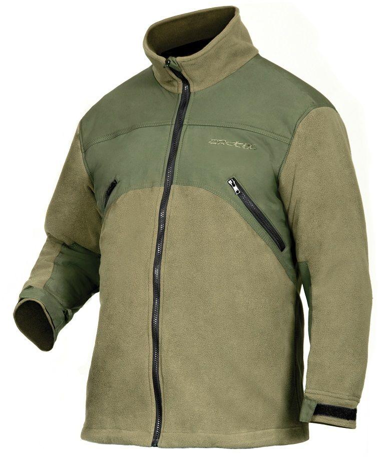 Куртка рыболовная Arctix, цвет: хаки. 809-01005. Размер XXXL (58)809Флисовая куртка Arctix сшита из непродуваемого дышащего материала, что обеспечивает комфорт при низких температурах. Подходит как для активного отдыха и как повседневная одежда. Защищает от влаги и ветра; быстро сохнет; выпускает избыток влаги наружу; сохраняет тепло.