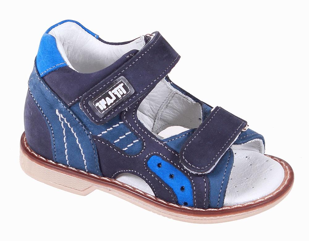 Сандалии для мальчика Tiflani, цвет: синий. 22B 0202/12. Размер 2522B 0202/12Детские сандалии для мальчиков от Tiflani, выполненные из высококачественных натуральных материалов, не только гарантируют удобство, но и служат для создания оригинального образа. Модель оформлена ремешками с застежками-липучками, позволяющими регулировать обхват по размеру.Подошва обладает отличными теплопроводными свойствами, гибкостью и износостойкостью. Каждое движение в этой обуви приносит радость и удовольствие.