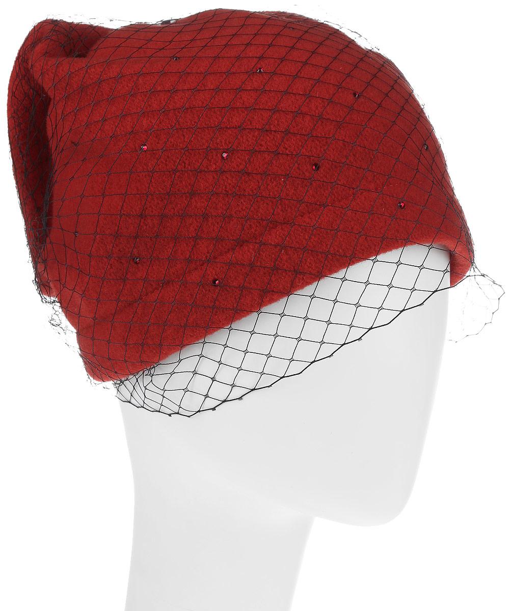 Шапка женская Avanta Ket, цвет: красный. 993224. Размер 57/58993224Женская шапка Avanta изготовлена из шерсти. Уважаемые клиенты!Размер, доступный для заказа, является обхватом головы.
