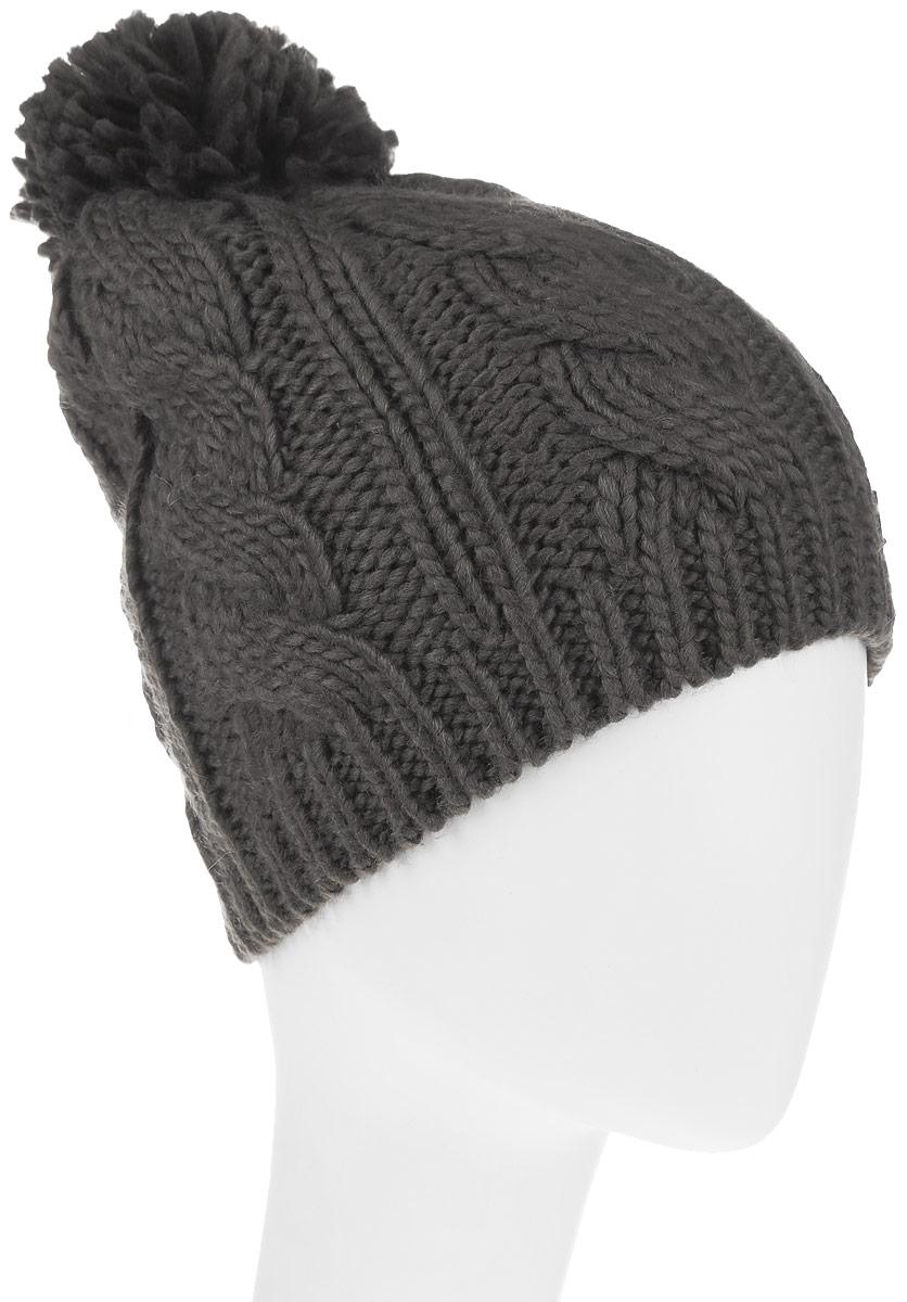 Шапка женская Avanta Nerina, цвет: серо-зеленый. 991503. Размер 58991503Теплая женская шапка Avanta Nerina дополнит ваш наряд и не позволит вам замерзнуть в холодное время года. Шапка выполнена из полиэстера с добавлением шерсти, что позволяет ей великолепно сохранять тепло, и обеспечивает высокую эластичность и удобство посадки. Изделие оформлено оригинальным помпоном и фирменной, металлической нашивкой. Такая шапка составит идеальный комплект с модной верхней одеждой, в ней вам будет уютно и тепло.Уважаемые клиенты!Размер, доступный для заказа, является обхватом головы.