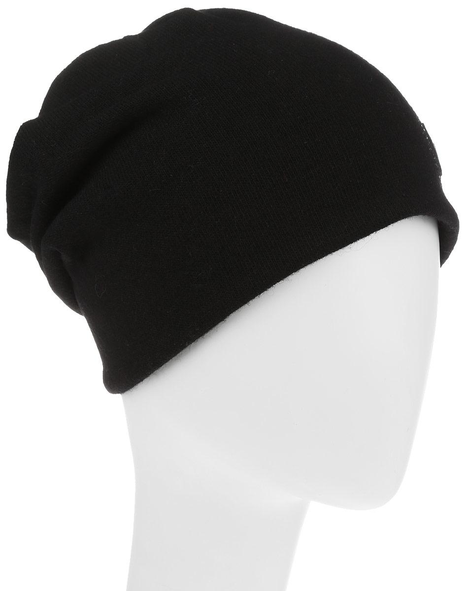 Шапка женская Level Pro, цвет: черный. 998980. Размер 56/58998980Стильная женская шапка Avanta дополнит ваш наряд и не позволит вам замерзнуть в холодное время года. Шапка выполнена из высококачественного комбинированного материала, что позволяет ей великолепно сохранять тепло, и обеспечивает высокую эластичность и удобство посадки. Изделие дополнено флисовой подкладкой и оформлено оригинальной нашивкой в виде листика и стразами. Такая шапка составит идеальный комплект с модной верхней одеждой, в ней вам будет уютно и тепло.