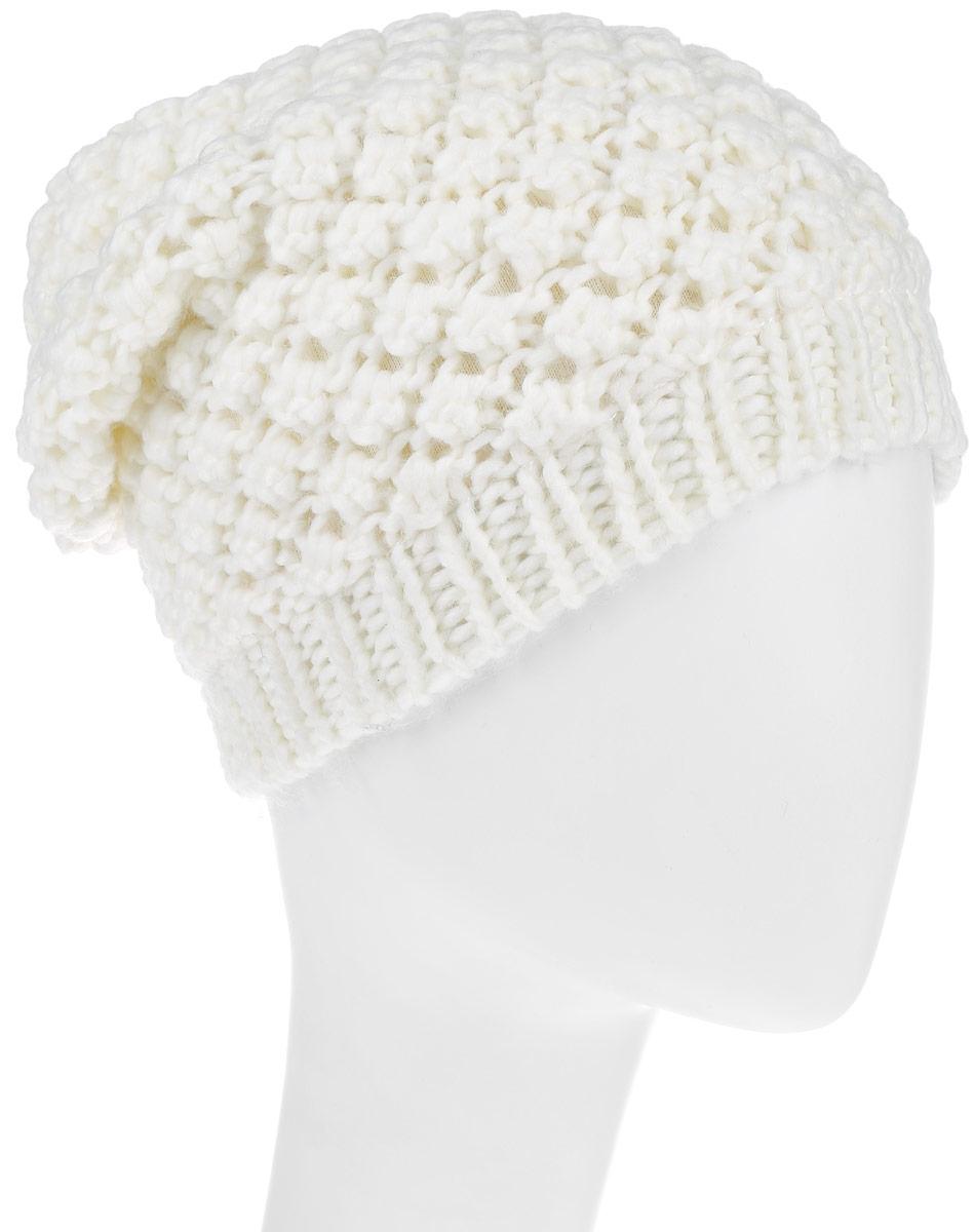 Шапка женская Avanta Tessa, цвет: молочный. 992039. Размер 58992039Теплая женская шапка Avanta Tessa дополнит ваш наряд и не позволит вам замерзнуть в холодное время года. Шапка выполнена из высококачественного комбинированного материала, что позволяет ей великолепно сохранять тепло, и обеспечивает высокую эластичность и удобство посадки. Внутренняя сторона шапки дополнена флисовой вставкой. Такая шапка составит идеальный комплект с модной верхней одеждой, в ней вам будет уютно и тепло.Уважаемые клиенты!Размер, доступный для заказа, является обхватом головы.