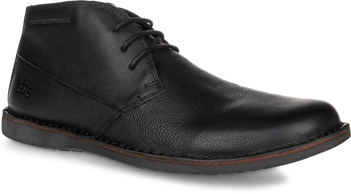 Ботинки мужские TBS Kerlea, цвет: черный. KERLEA-E8004. Размер 44 (43)KERLEA-E8004Трендовые мужские ботинки Kerlea от TBS - модель для ценителей современной качественной обуви! Модель выполнена из натуральной кожи. Внутренняя поверхность и стелька из кожи обеспечат комфорт и уют вашим ногам. Прочная резиновая подошва гарантирует длительную носку и сцепление с любой поверхностью. Классическая шнуровка надежно фиксирует обувь на ноге.Товары бренда смело можно отнести к продукции класса люкс, ведь они просто идеальны не только по стилю, но также и по качеству.