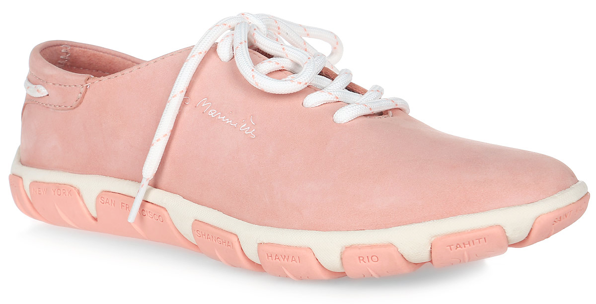Кроссовки женские TBS Jazaru, цвет: розовый. JAZARU-3786. Размер 40 (39)JAZARU-3786Стильные женские кроссовки Jazaru от TBS - модель для ценителей современной качественной обуви. Модель выполнена из натуральной гладкой кожи. Внутренняя поверхность и стелька из кожи обеспечат комфорт и уют вашим ногам. Подошва из прочного каучука гарантирует длительную носку и сцепление с любой поверхностью. Классическая шнуровка надежно фиксирует обувь на ноге.