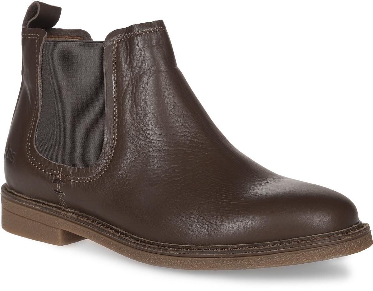 Челси женские TBS Britsh, цвет: коричневый. BRITSH-F7021. Размер 40 (39)BRITSH-F7021Стильные челси Britsh от TBS придутся вам по душе. Модель выполнена из натуральной высококачественной кожи. Боковые стороны оформлены вставками из эластичной резинки. Внутренняя поверхность и стелька из кожи обеспечат комфорт и уют вашим ногам. Подошва из прочной резины гарантирует длительную носку и сцепление с любой поверхностью. Такие ботинки подарят комфорт и удобство даже самым требовательным дамам.