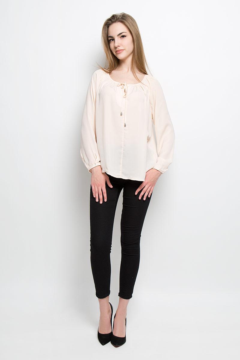 Блузка женская Broadway Talika, цвет: светло-персиковый. 10156911_055. Размер L (48)