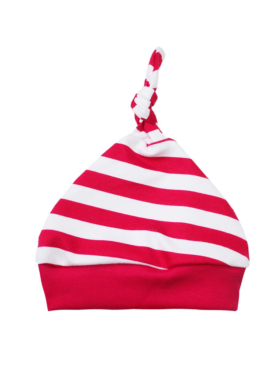 Шапочка КотМарКот Новый год, цвет: красный, белый. 8575. Размер 44, 6-9 месяцев8575Комфортная шапочка КотМарКот Новый год выполнена из натурального хлопка. На макушке шапочка дополнена очаровательным узелком. Модель оформлена принтом в полоску.Уважаемые клиенты!Размер, доступный для заказа, является обхватом головы.