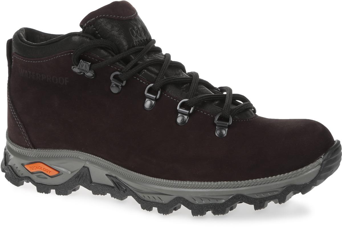 Ботинки мужские Strobbs, цвет: коричневый. C101-17. Размер 40C101-17Стильные мужские ботинки Strobbs, выполненные в спортивном стиле, прекрасно подойдут для активного отдыха и повседневной носки. Верх из непромокаемого нубука и подкладка из искусственного меха не дадут ногам замерзнуть. Удобная шнуровка надежно зафиксирует модель на стопе. Резиновая подошва с крупным протектором обеспечит хорошее сцепление с любой поверхностью. В таких ботинках вашим ногам будет тепло и комфортно.